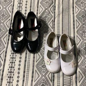 (2) Toddler Girls Rachel Dress Shoes
